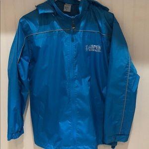 "Rain jacket ""Aspen Snowmass"" size small"